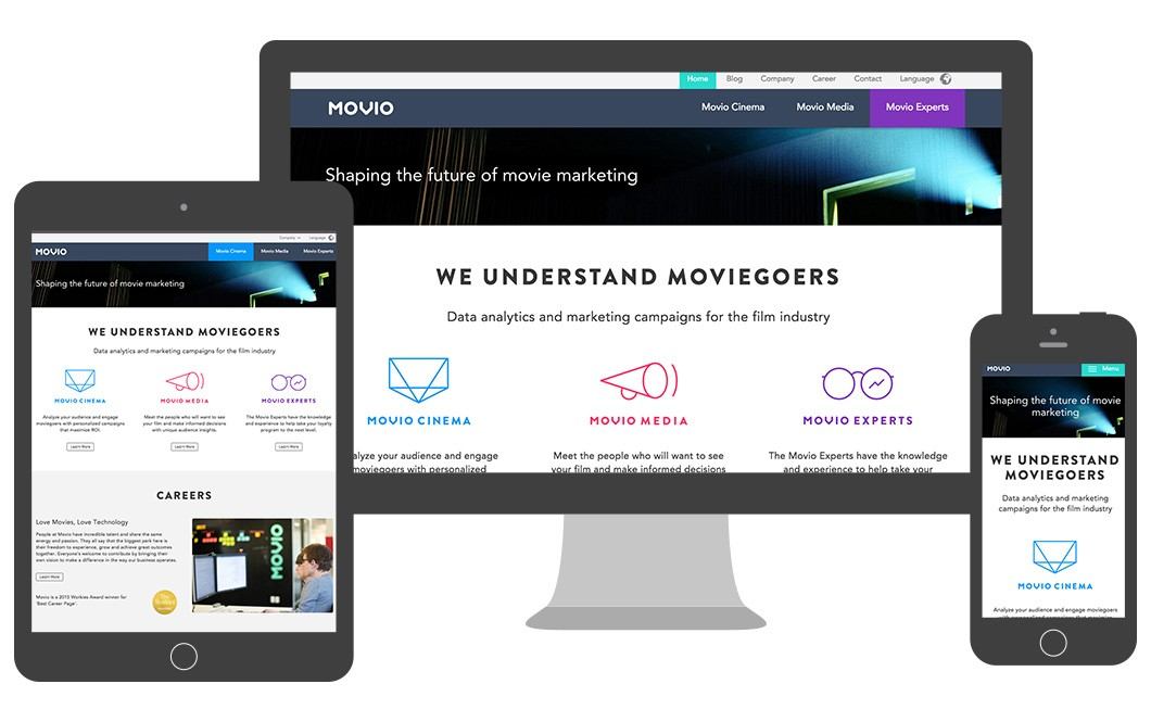 Movio decided to switch from Wordpress to django CMS based on the Aldryn Cloud platform