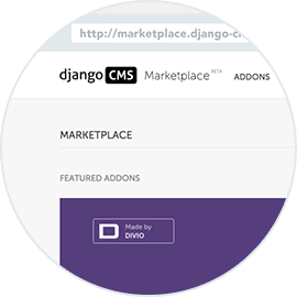 The django CMS Marketplace